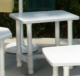 17 x 22 end table clinton casual patio and fireplace - Table pvc jardin ...