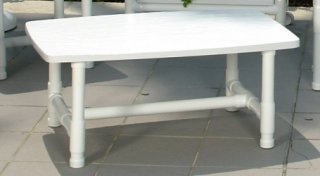 Coffee table clinton casual patio and fireplace - Table pvc jardin ...