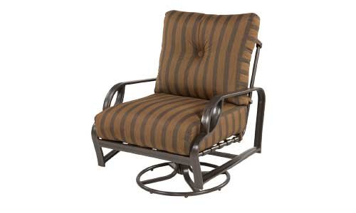 Lounge Chair Swivel Rocker Clinton Casual Patio And Fireplace